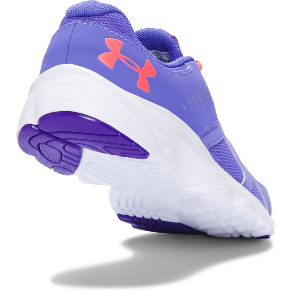 UNDER ARMOUR Girls' Grade School UA Pace Running Shoes - PURPLE