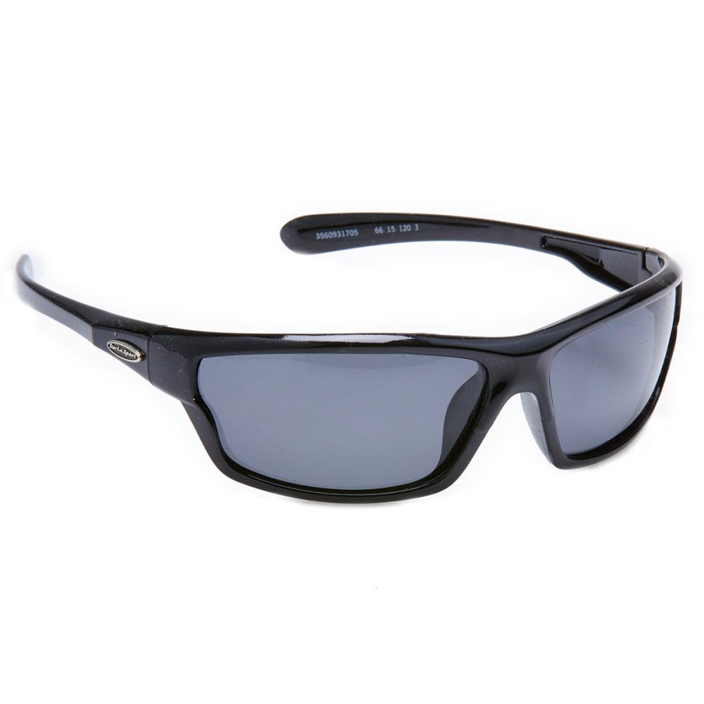 OUTLOOK EYEWEAR Lebron Polarized Sunglasses - BLK SMOKE