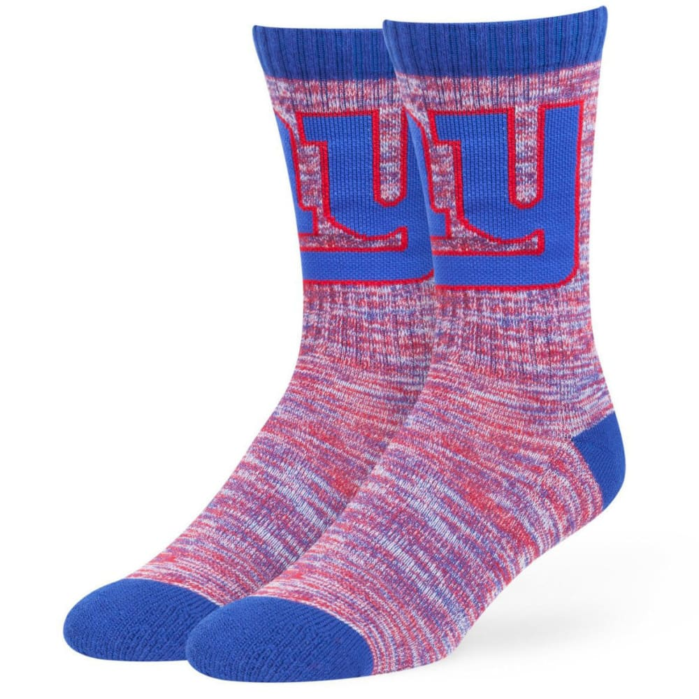 NEW YORK GIANTS Men's Leroy Crew Socks - ROYAL BLUE