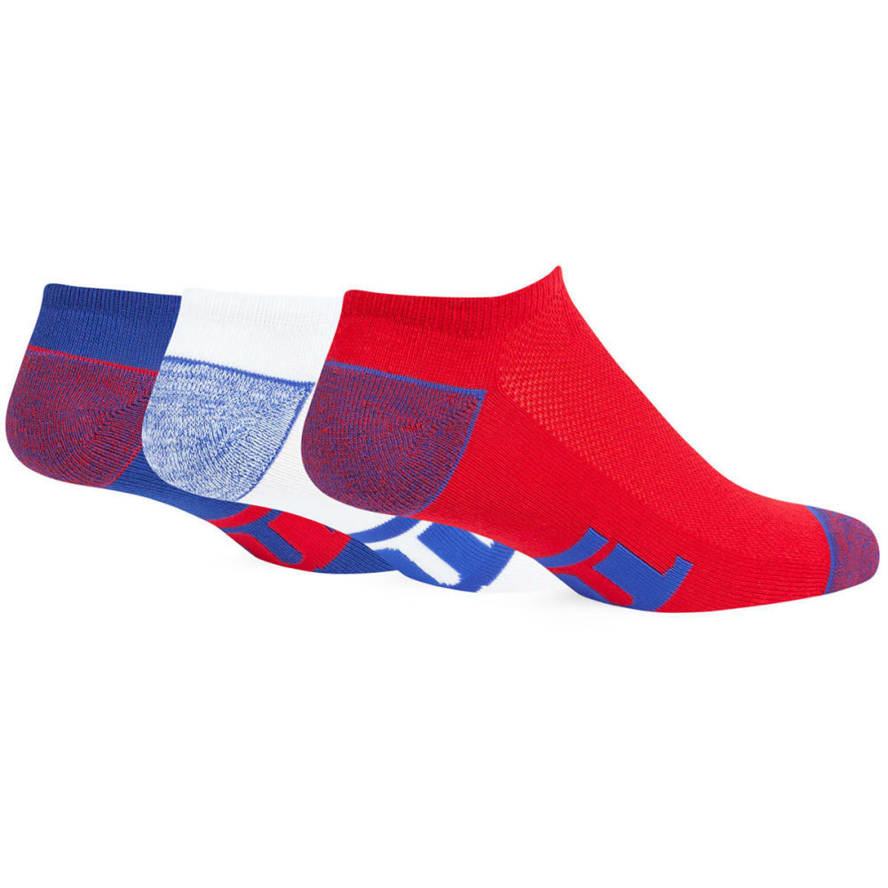 NEW YORK GIANTS Women's '47 Blade No Show Socks, 3 Pack - RED/ROYAL/WHITE-3PK