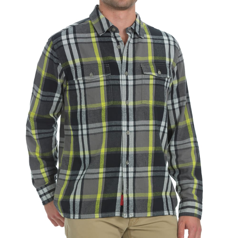 Ems(R) Men's Timber Flannel Shirt - Black, L