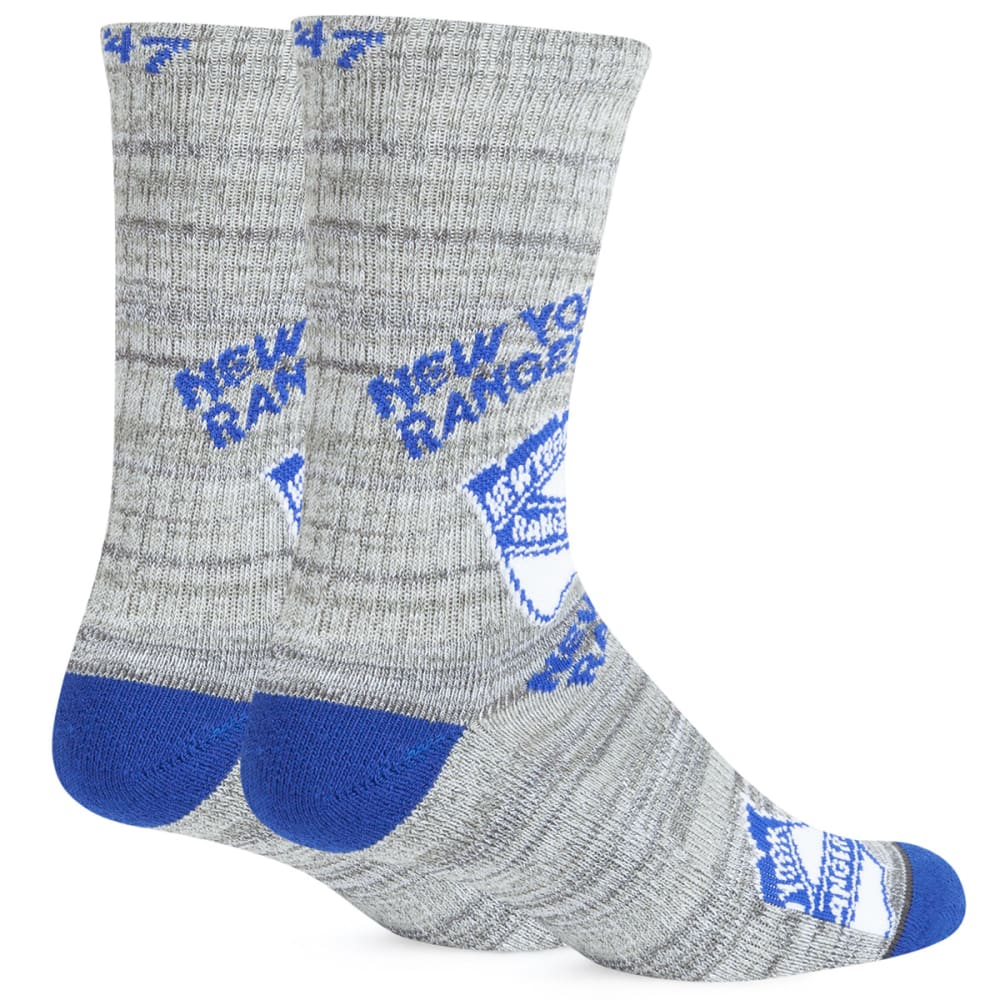 NEW YORK RANGERS Men's Percy Crew Socks - ROYAL