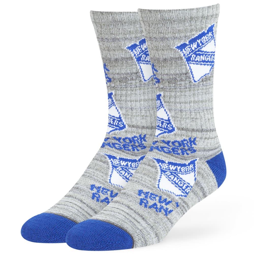 NEW YORK RANGERS Men's Percy Crew Socks - ROYAL