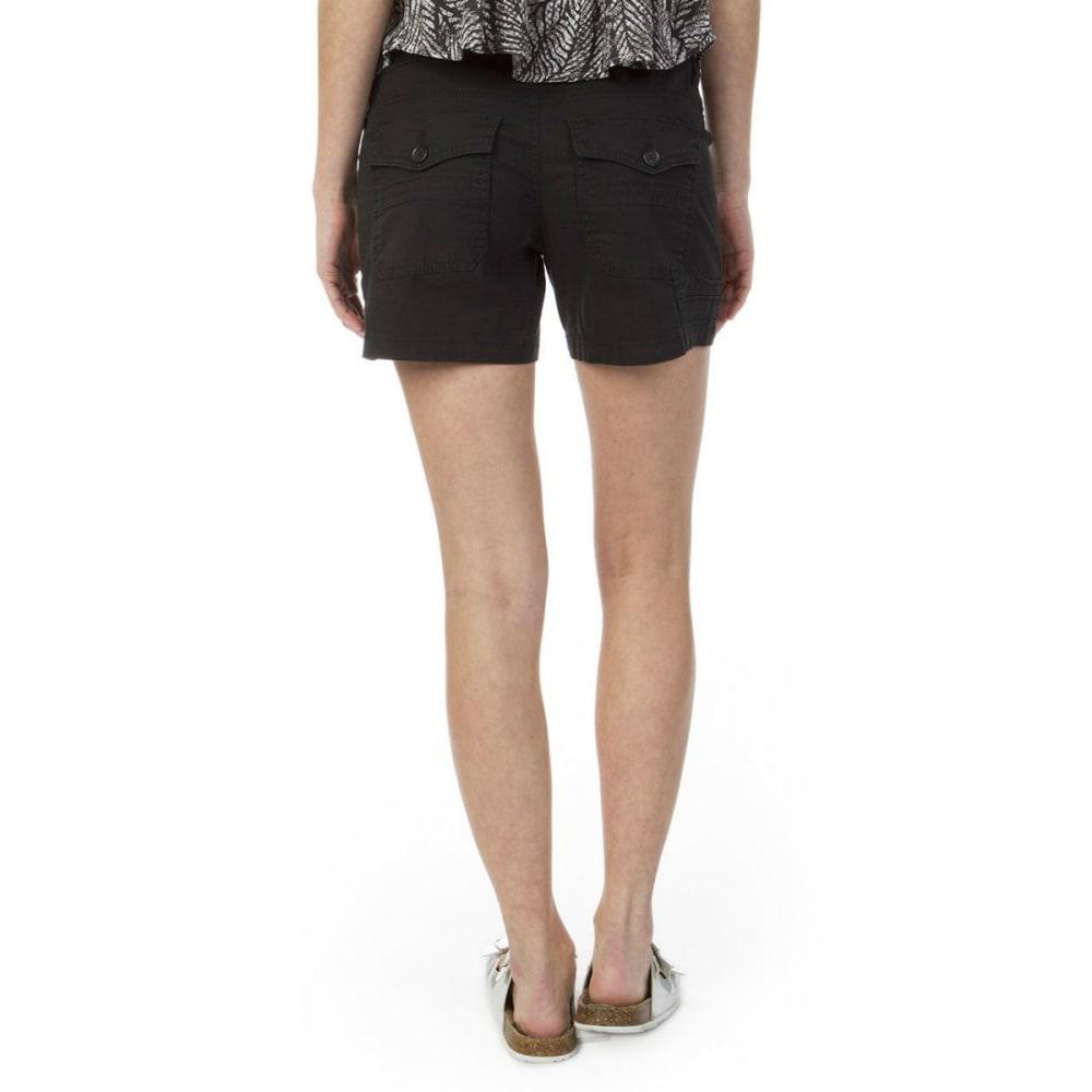 UNIONBAY Juniors' Mara Shorts - BLACK- 001J