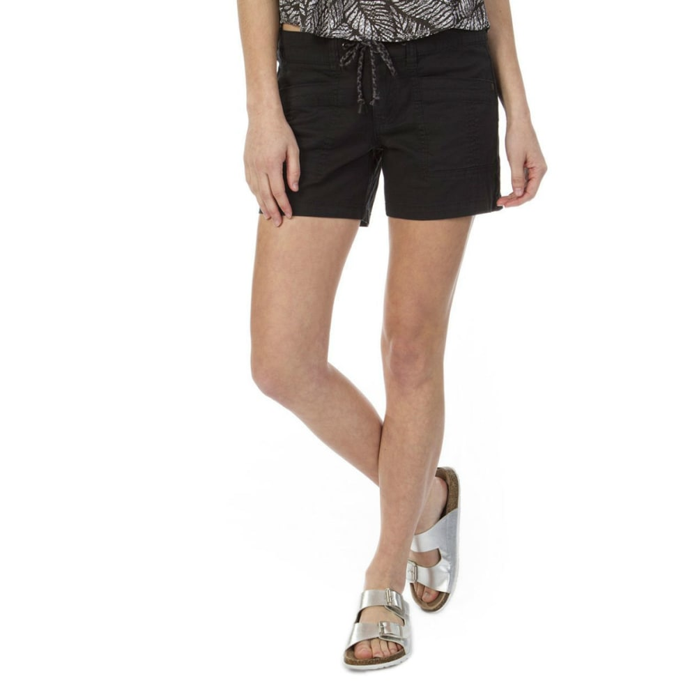 UNIONBAY Juniors' Mara Shorts - BLACK- 001J