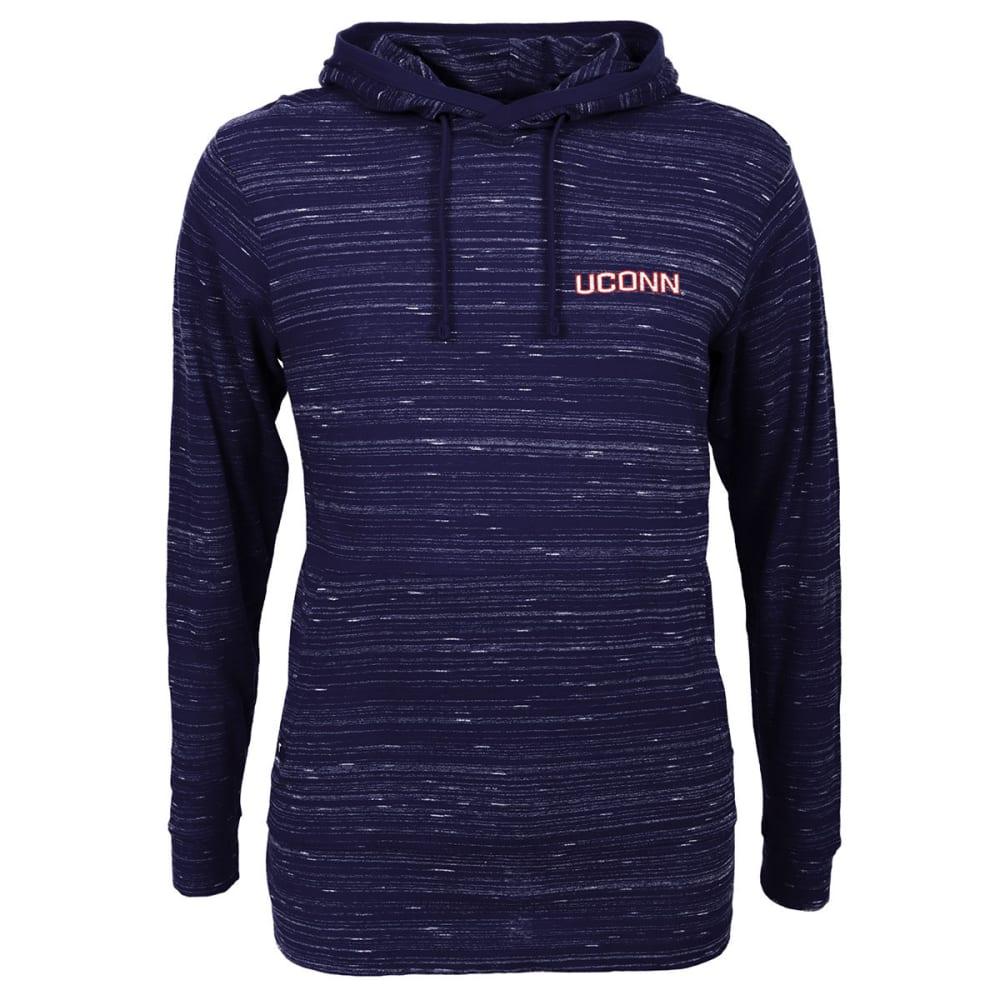Uconn Men's Lightweight Pullover Hoodie - Blue, M
