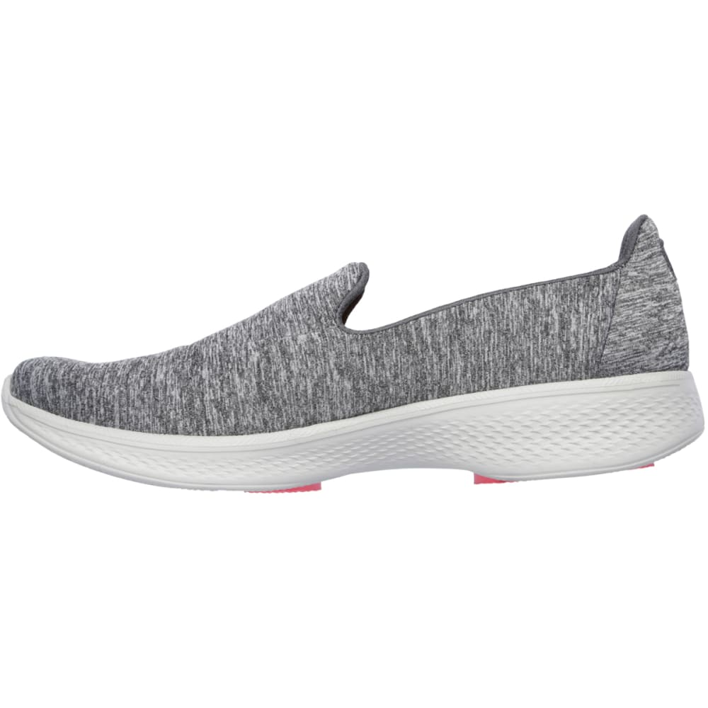 SKECHERS Women's Go Walk 4 Slip On Walking Sneakers - GREY