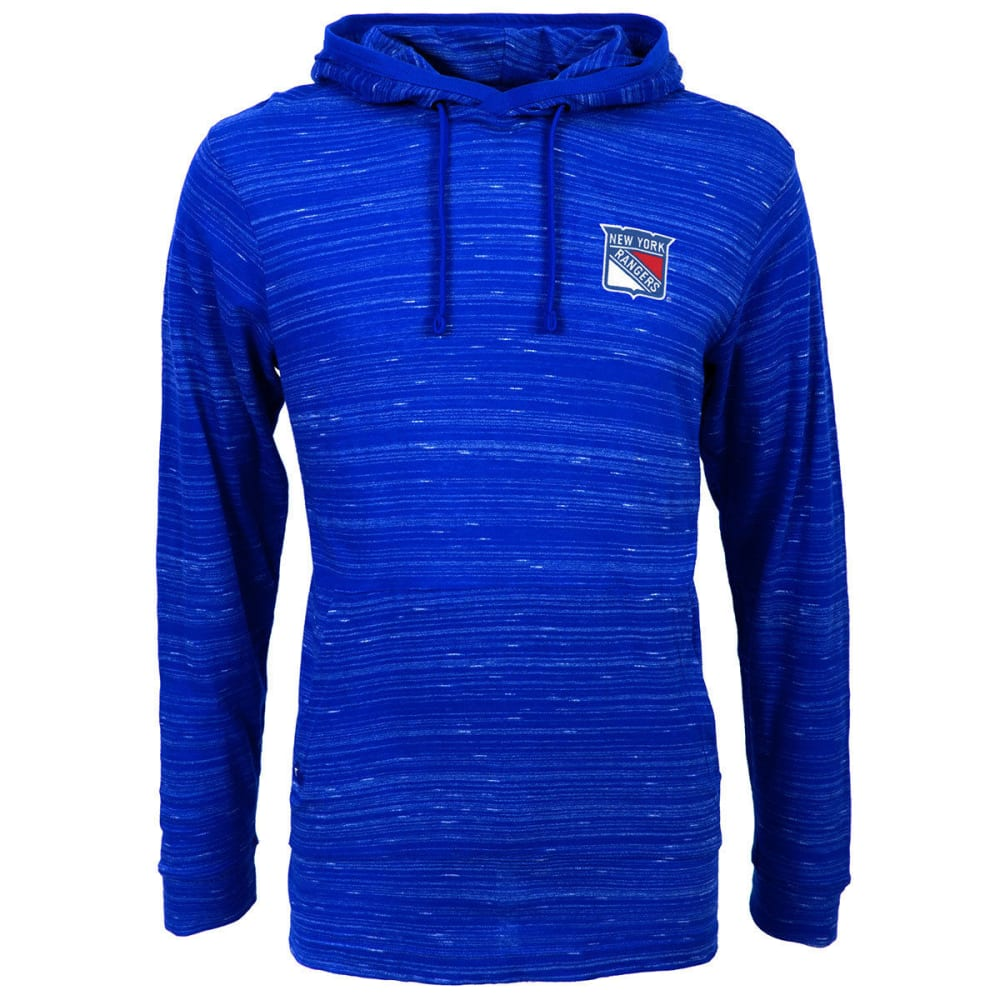 New York Rangers Men's Team Pullover Hoodie - Blue, M