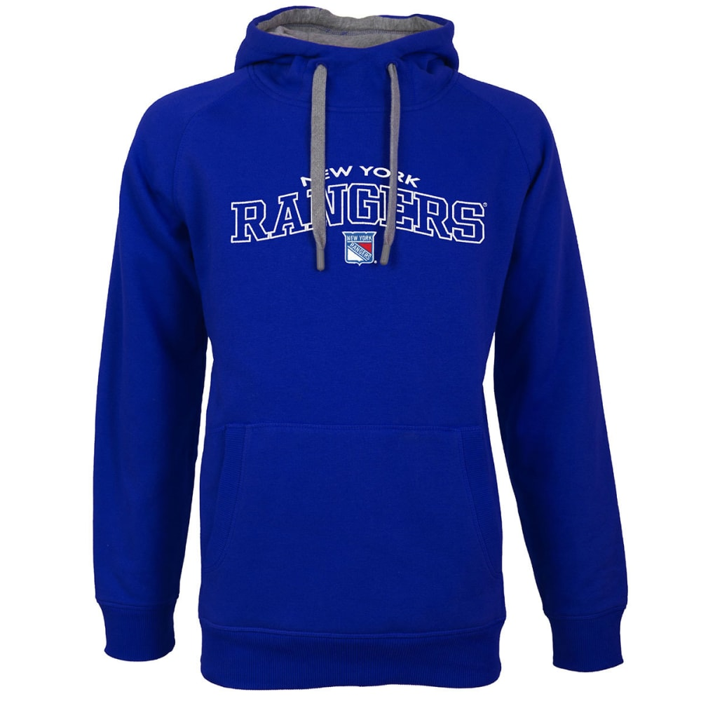 NEW YORK RANGERS Men's Victory Pullover Hoodie - ROYAL BLUE