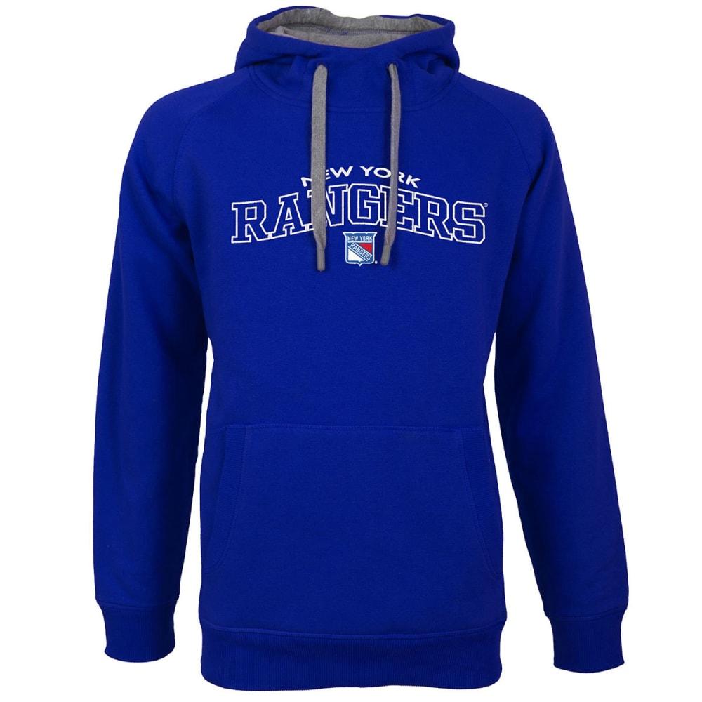 NEW YORK RANGERS Men's Victory Pullover Hoodie - ROYAL BLUE