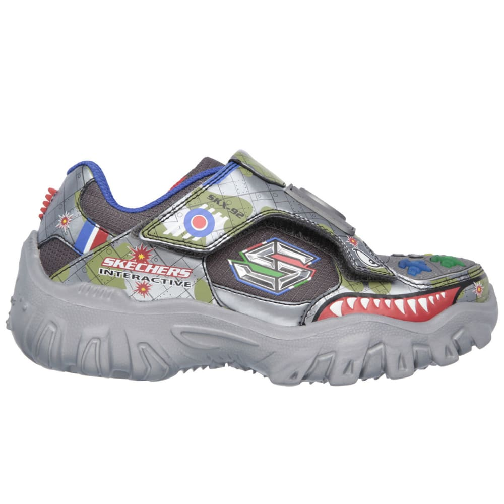 SKECHERS Boys' Damager - Game Kicks II Fight Shoes - GREY