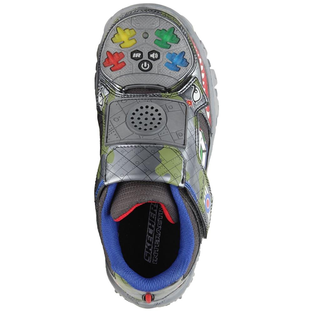 SKECHERS Boys' Damager - Game Kicks II Fight Shoes - GREY