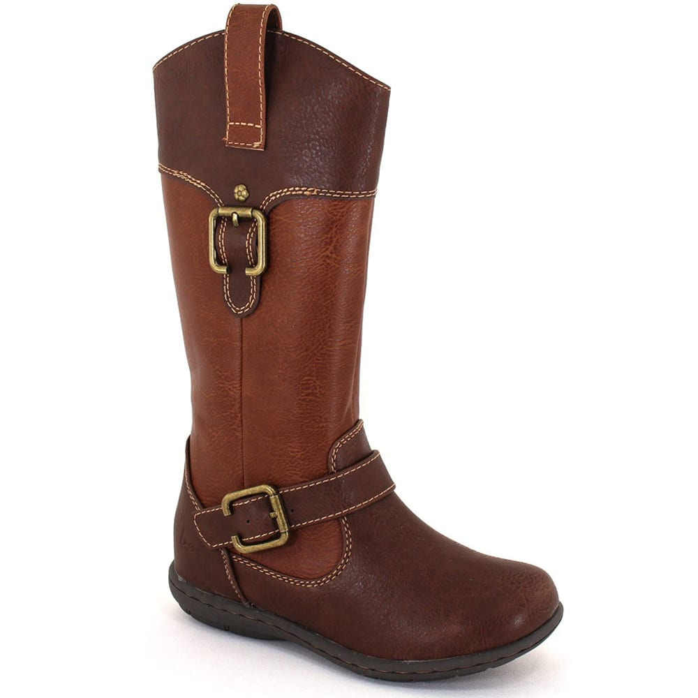 BOC Girls' Bergen Riding Boots - BROWN