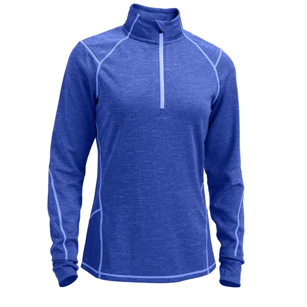 EMS Women's Techwick Dual Thermo  1/4 Zip - DAZZLING BLUE