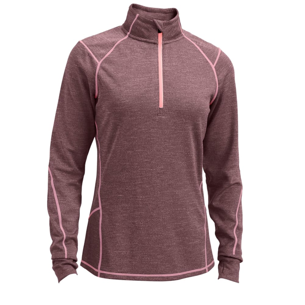 Ems(R) Women's Techwick(R) Dual Thermo  1/4 Zip - Purple, S