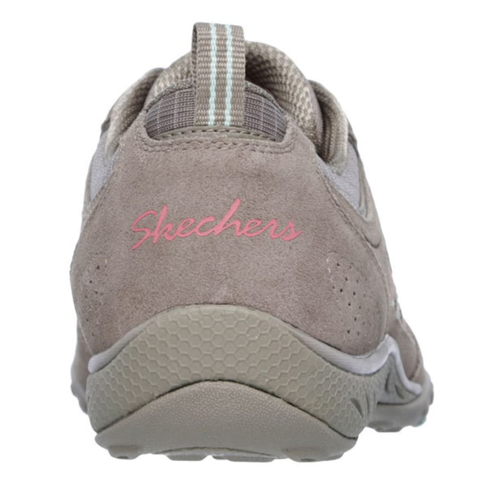 SKECHERS Women's Relaxed Fit: Breathe Easy – Good Luck Sneakers - TAUPE