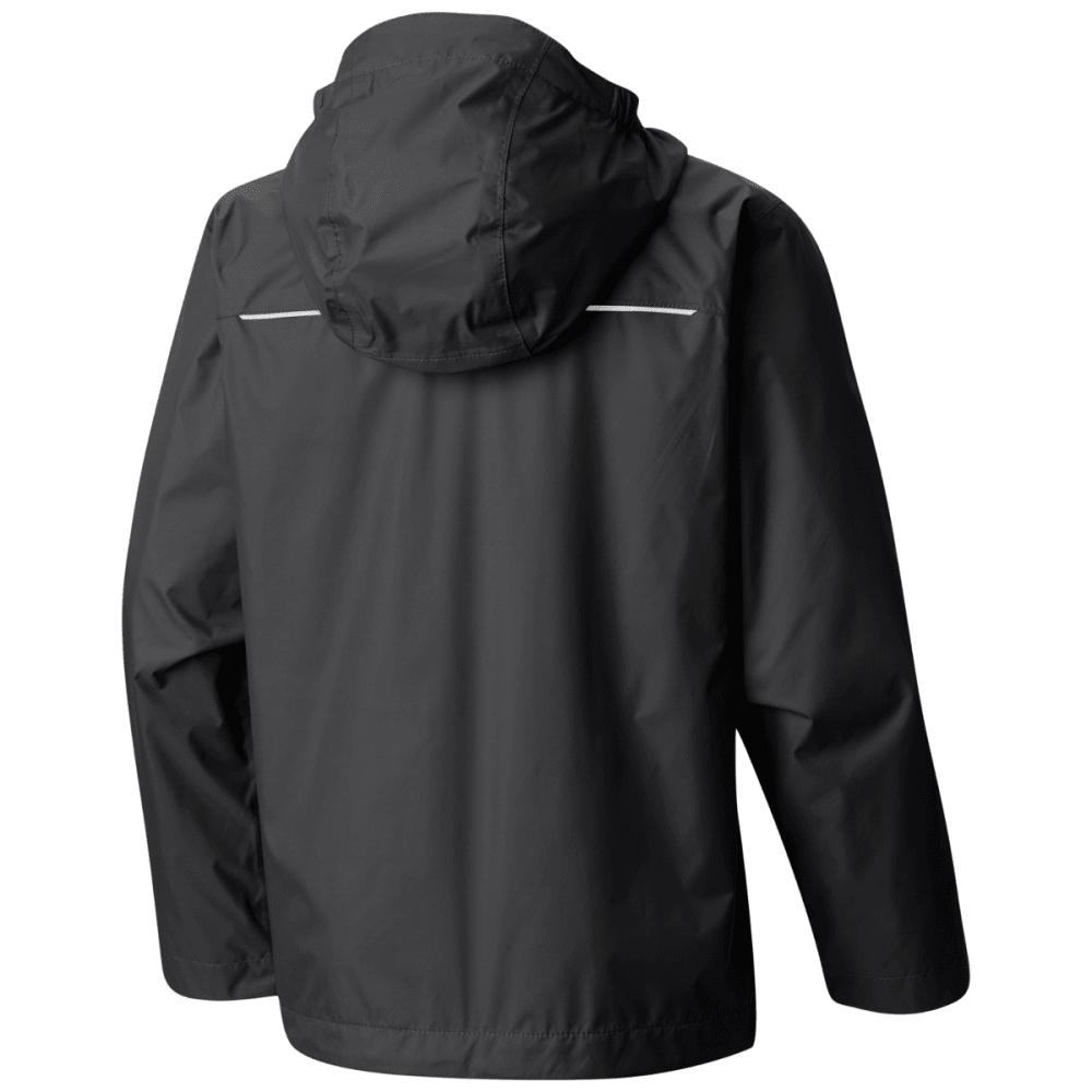 COLUMBIA Boys' Watertight Jacket - BLACK GRILL-010