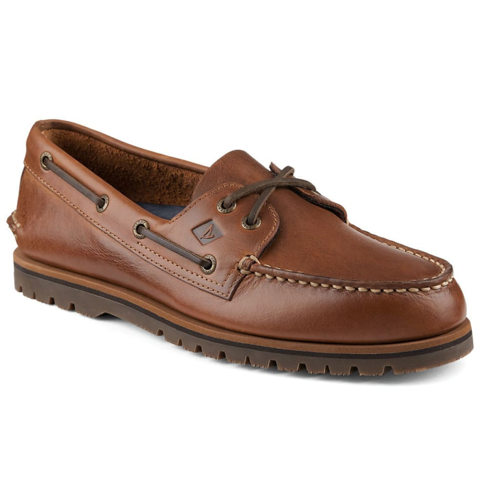 SPERRY Men's Authentic Original Mini Lug Boat Shoes - TAN