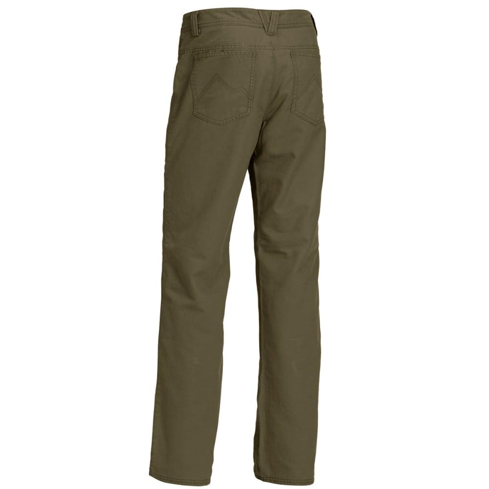 EMS Men's Ranger Flannel-Lined Pants - FOREST NIGHT