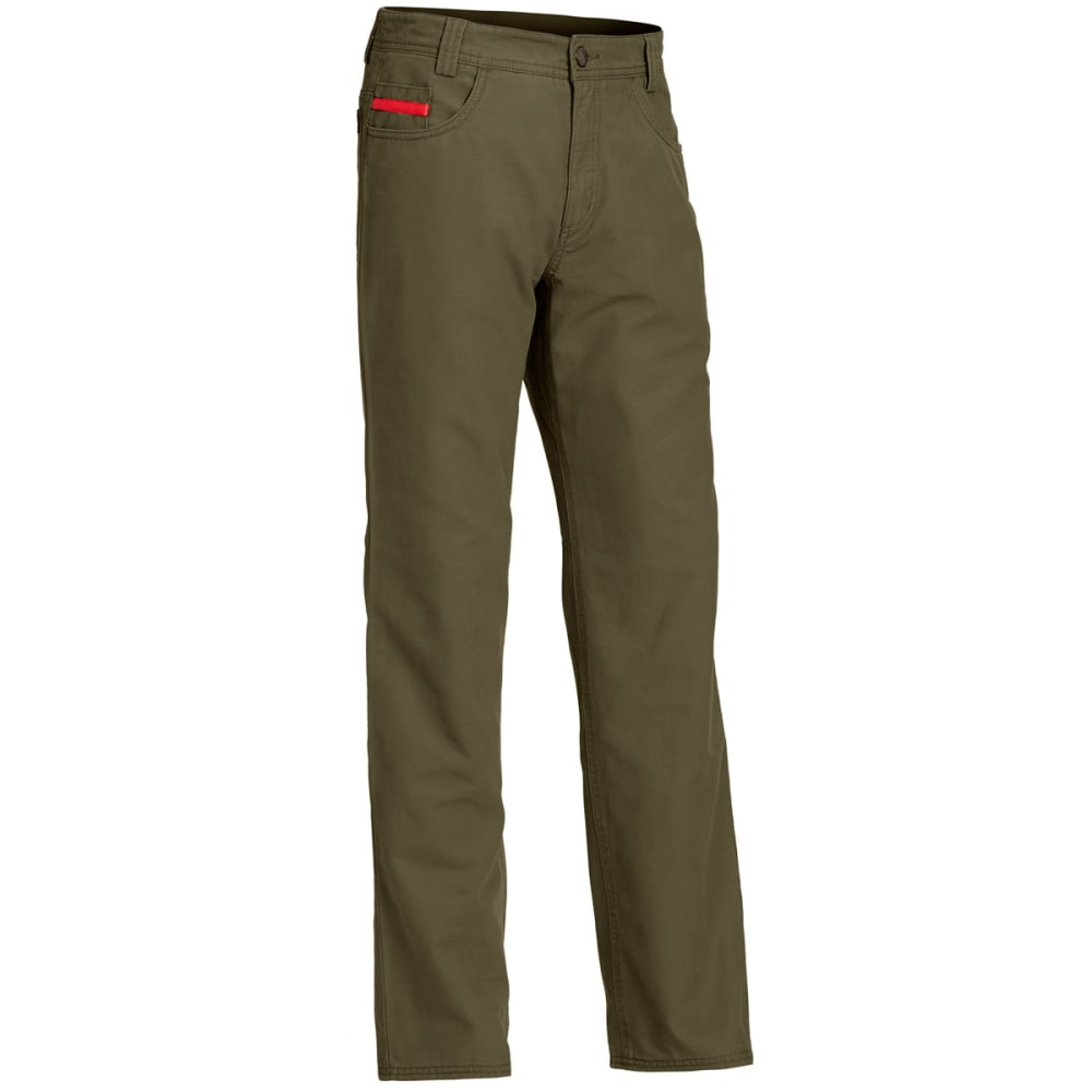 Ems(R) Men's Ranger Flannel-Lined Pants - Green, 36/R