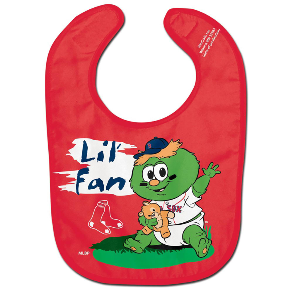 BOSTON RED SOX All Pro Baby Bib - RED
