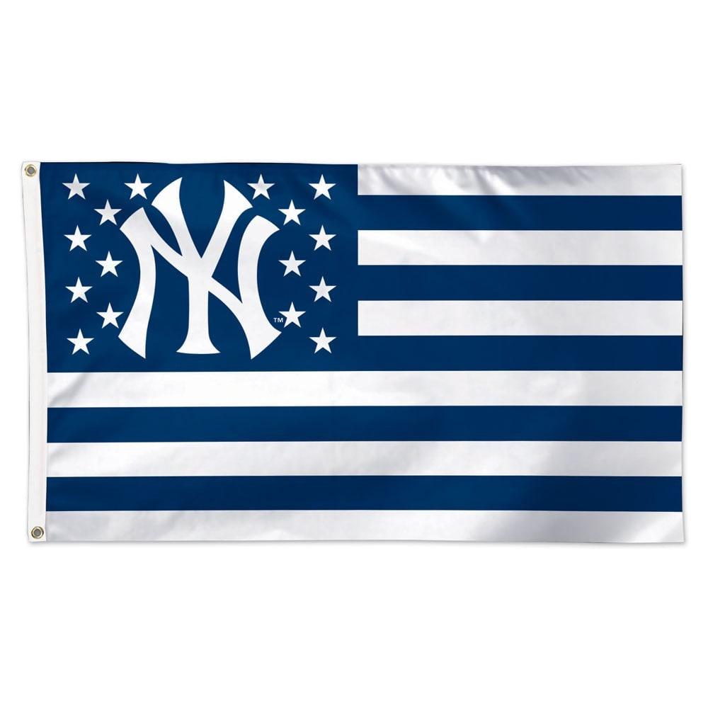 NEW YORK YANKEES 3 ft. x 5 ft. American Flag - NAVY