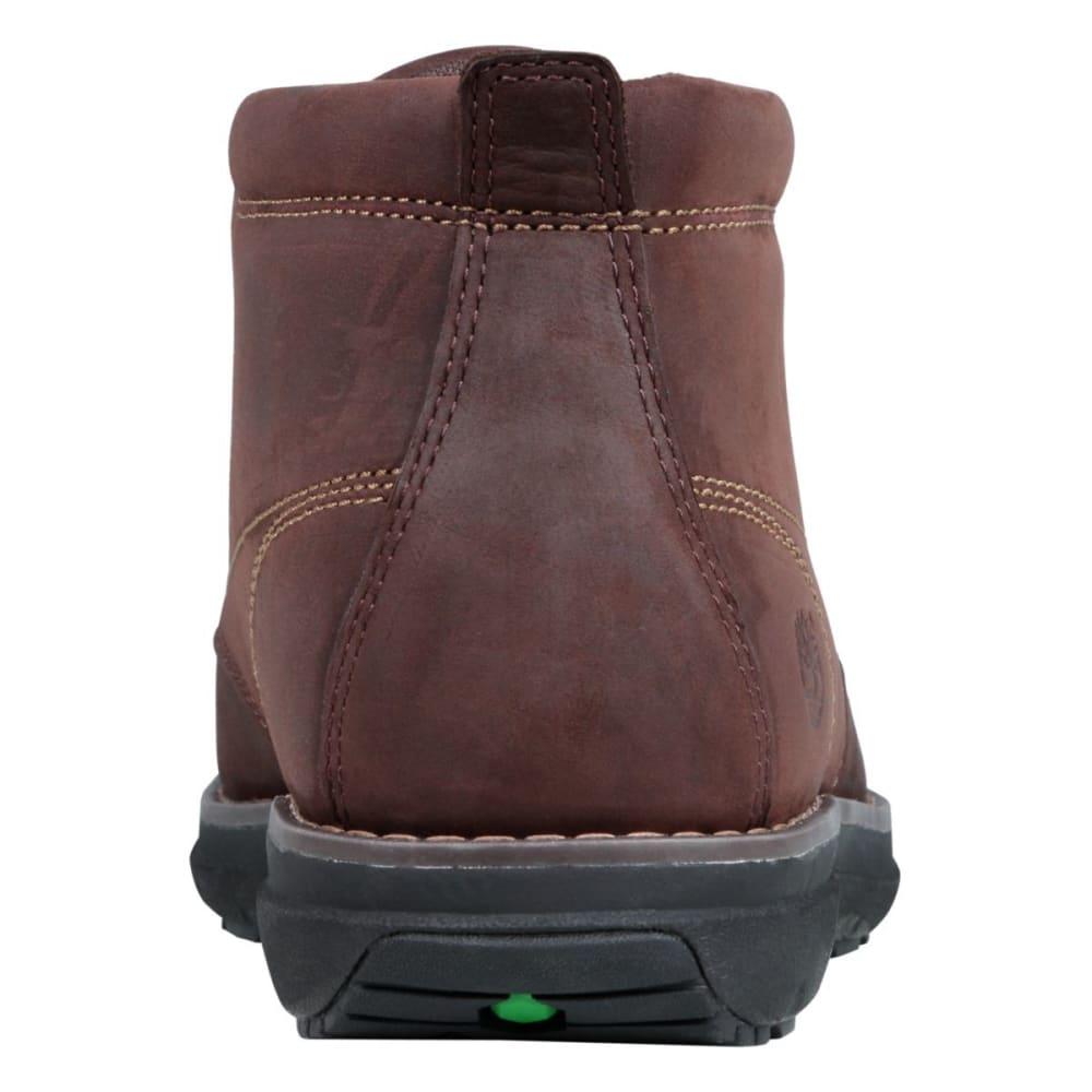TIMBERLAND Men's Barret Park Moc Toe Chukka Boots - DARK BROWN FULL GRAI