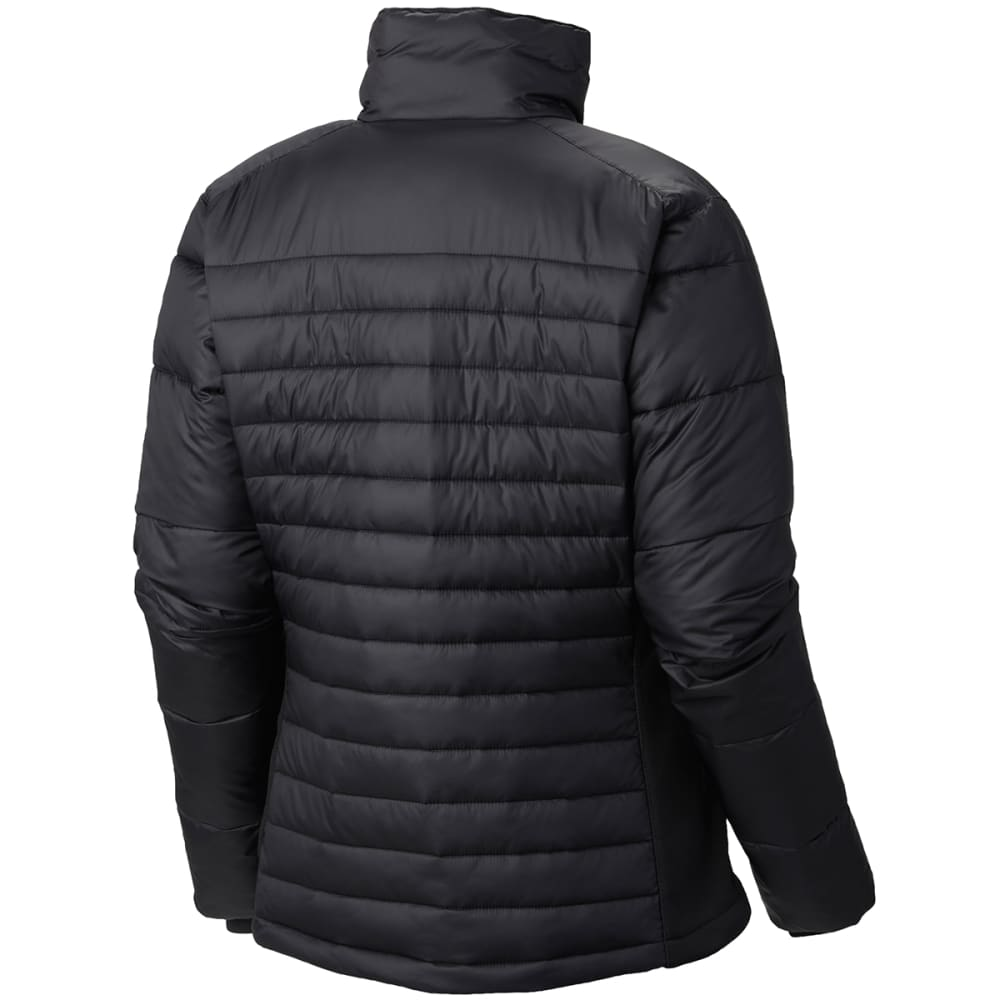 COLUMBIA Women's Powder Pillow Hybrid Jacket - 011-BLACK