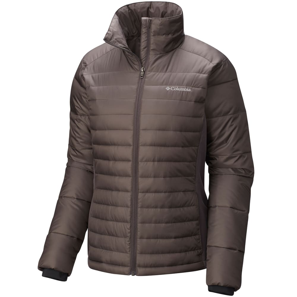COLUMBIA Women's Powder Pillow Hybrid Jacket - 981-MINESHAFT