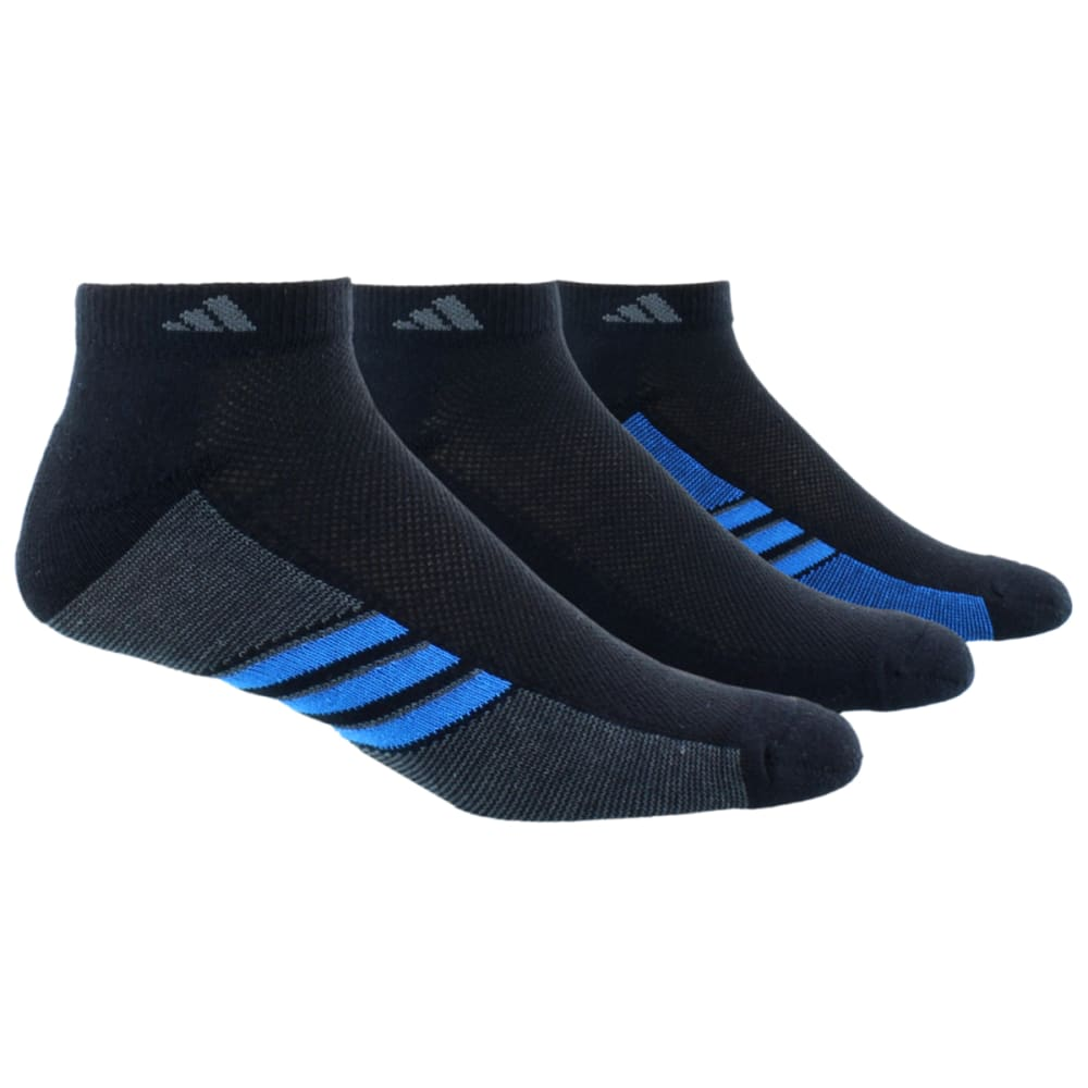 Adidas Men's Climacool Superlite Low-Cut Socks 3-Pack - Black, 10-13