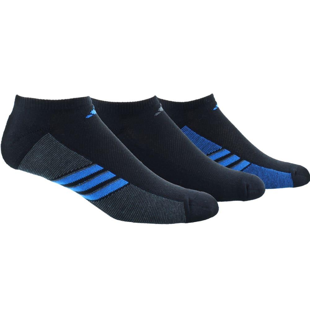 ADIDAS Men's Training Climacool Superlite No-Show Socks - BLACK/BLUE/GRAPH