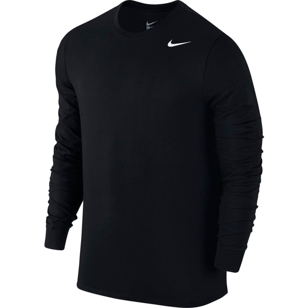 NIKE Men's Dri-Fit Cotton Long Sleeve Tee L