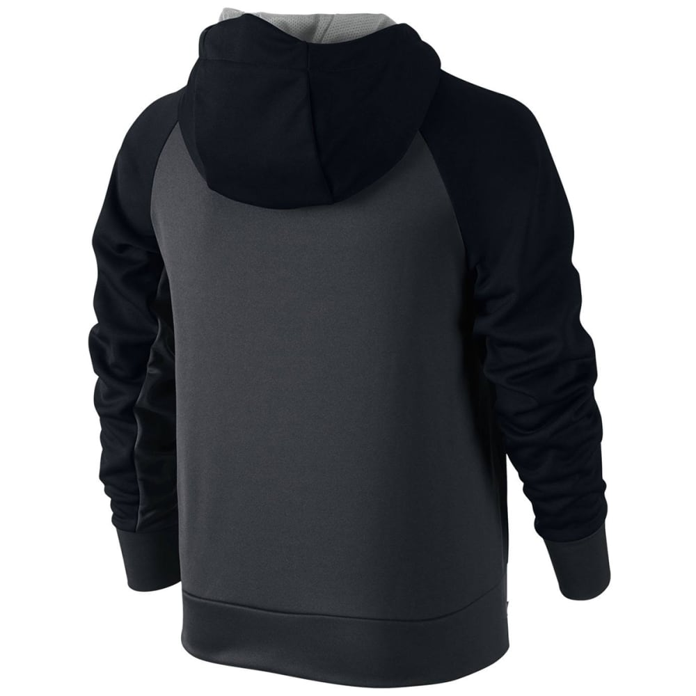 NIKE Big Boys' Therma Training Pullover Hoodie - ANTH/BLK-060