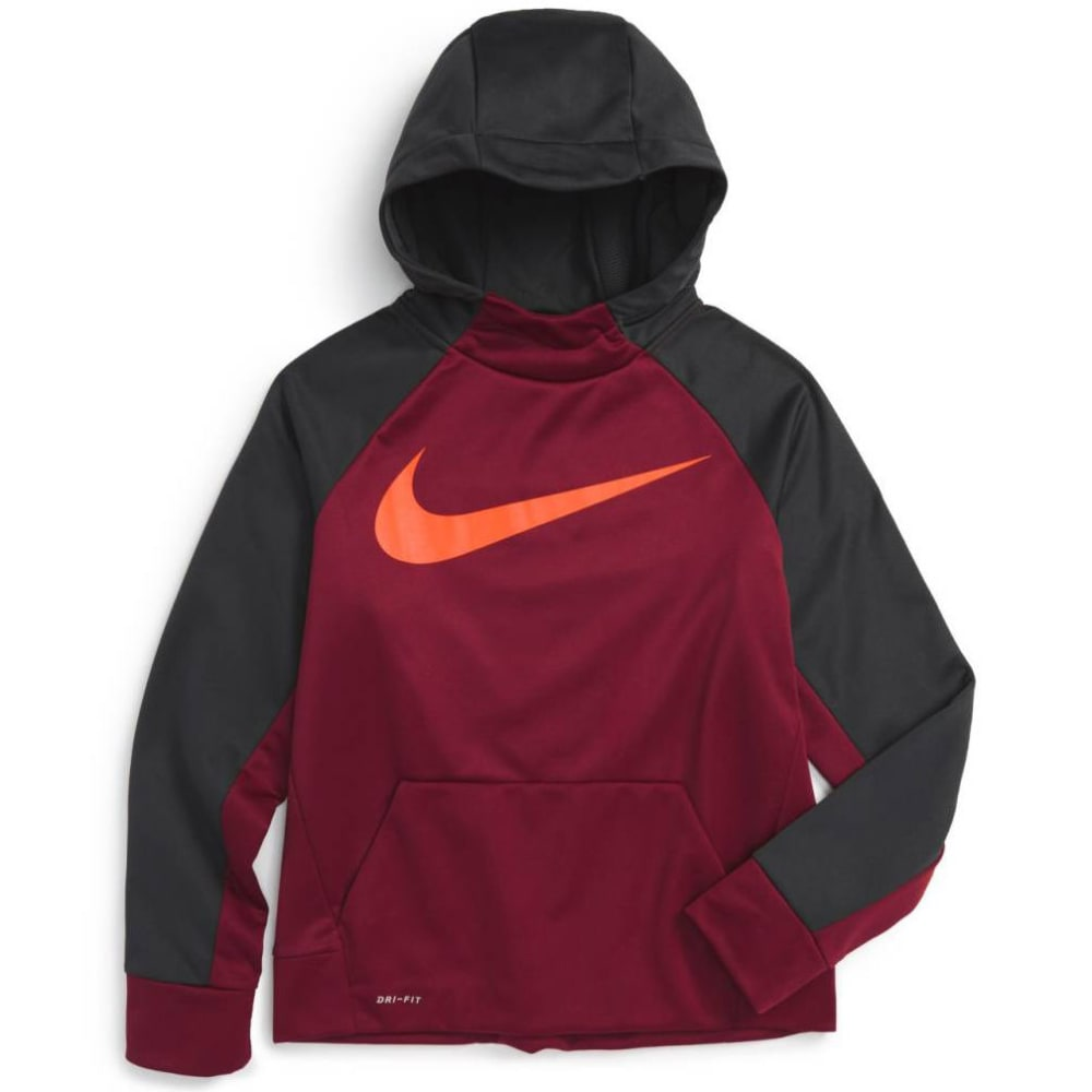 NIKE Big Boys' Therma Training Pullover Hoodie S