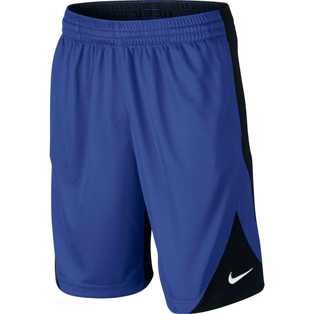 NIKE Boys' Avalanche Basketball Shorts - GAME ROYAL/BLK-480