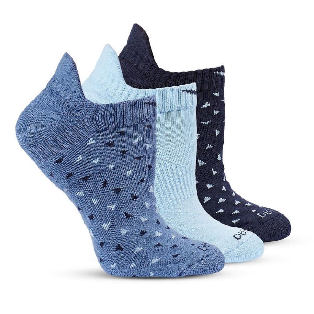 NIKE Women's Dri-FIT Lightweight No-Show Running Socks, 3 Pack M