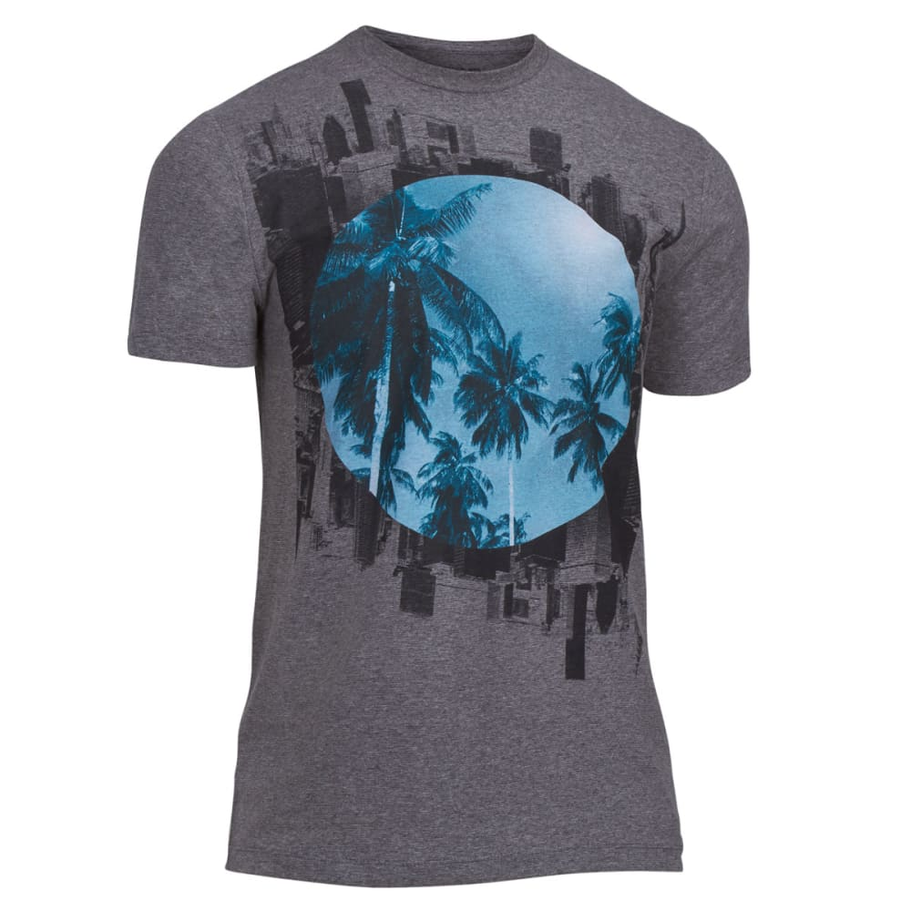 OCEAN CURRENT Guys' Sunken City Tee - CARBON