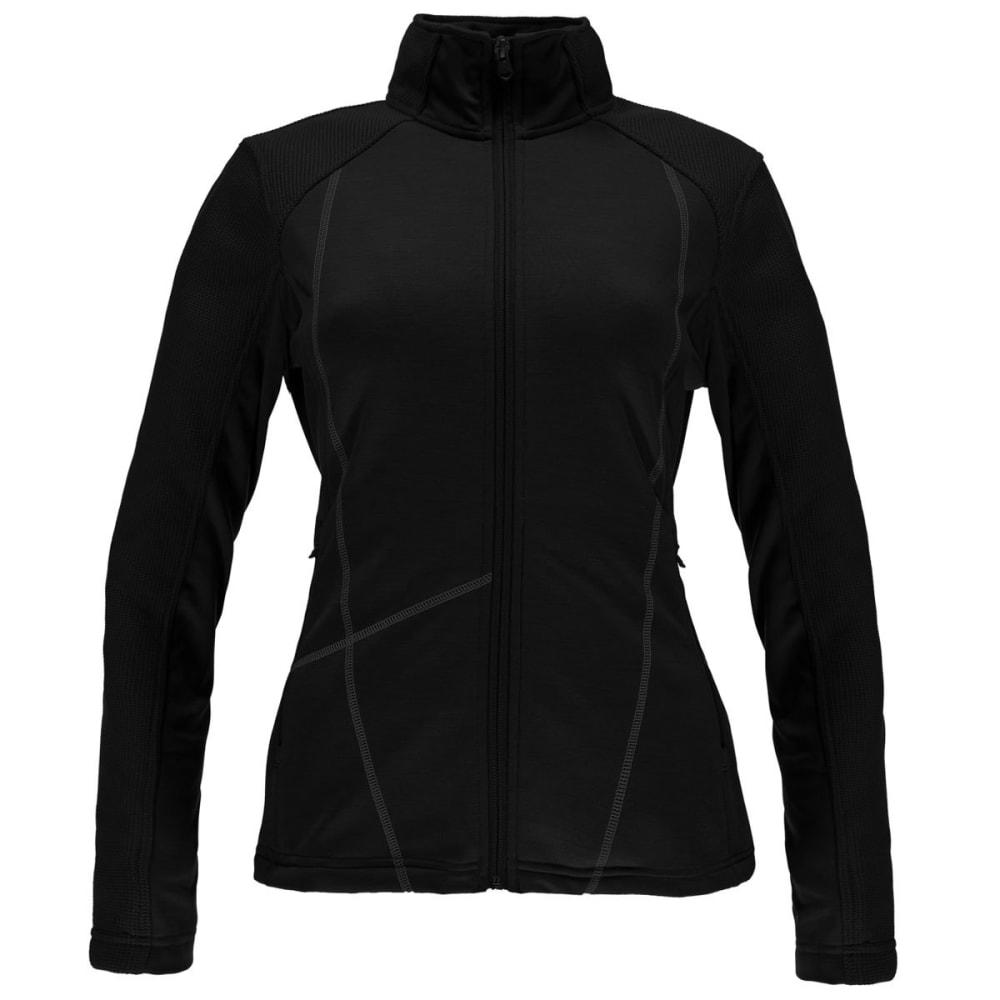 SPYDER Women's Bandita Stryke Jacket - 001-BLK/SILVER
