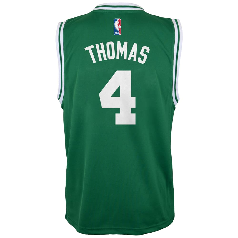 BOSTON CELTICS Boys' Thomas #4 Replica Jersey - GREEN