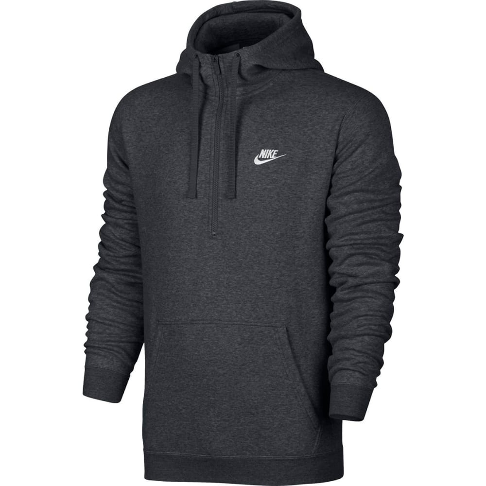 NIKE Men's NSW Club Fleece Half Zip Pullover Hoodie XL