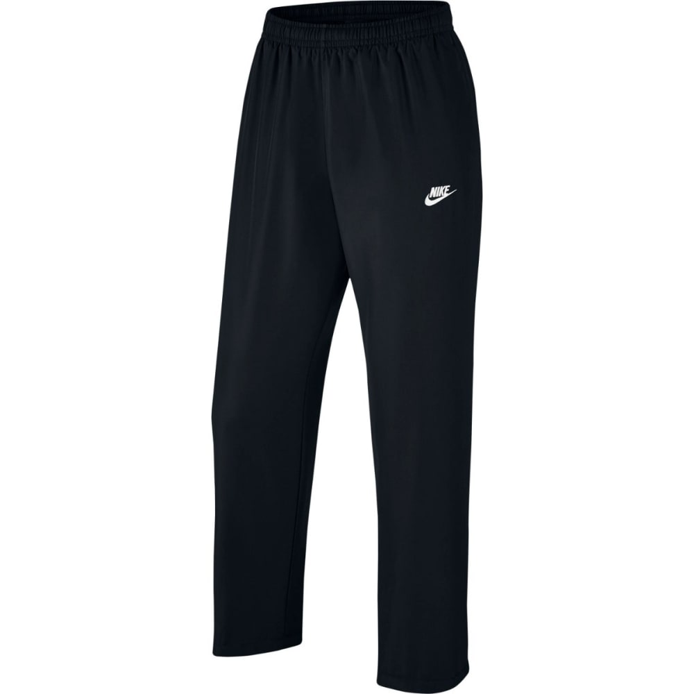 NIKE Men's Sportswear Woven Pants - BLACK-010