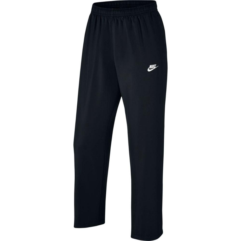 NIKE Men's Sportswear Woven Pants - BLACK-010
