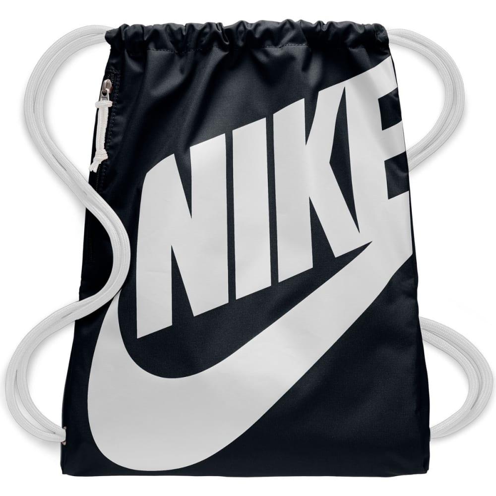 NIKE Heritage Gym Sack Pack - BLACK/WHT 011
