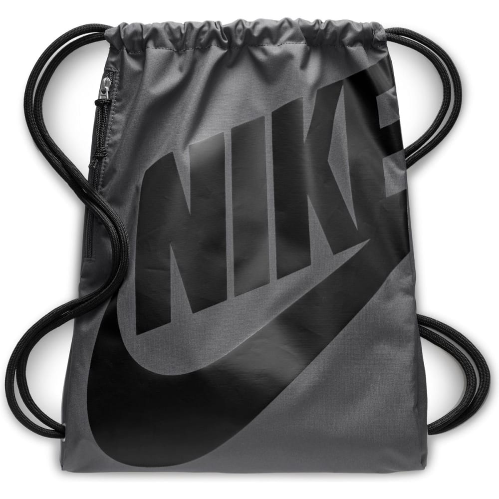 NIKE Heritage Gym Sack Pack - DARK GREY-009
