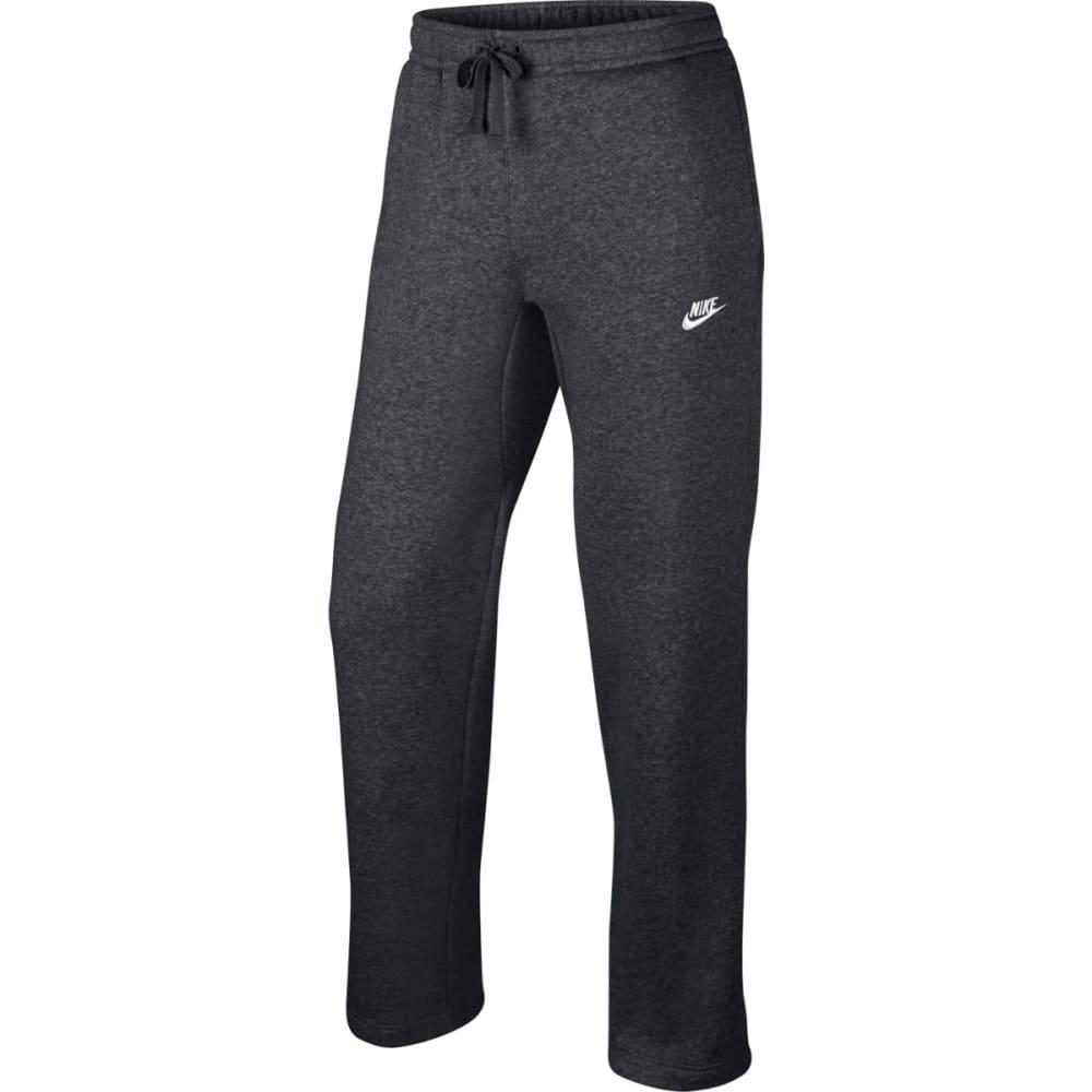 NIKE Men's Open Hem Club Fleece Pants L