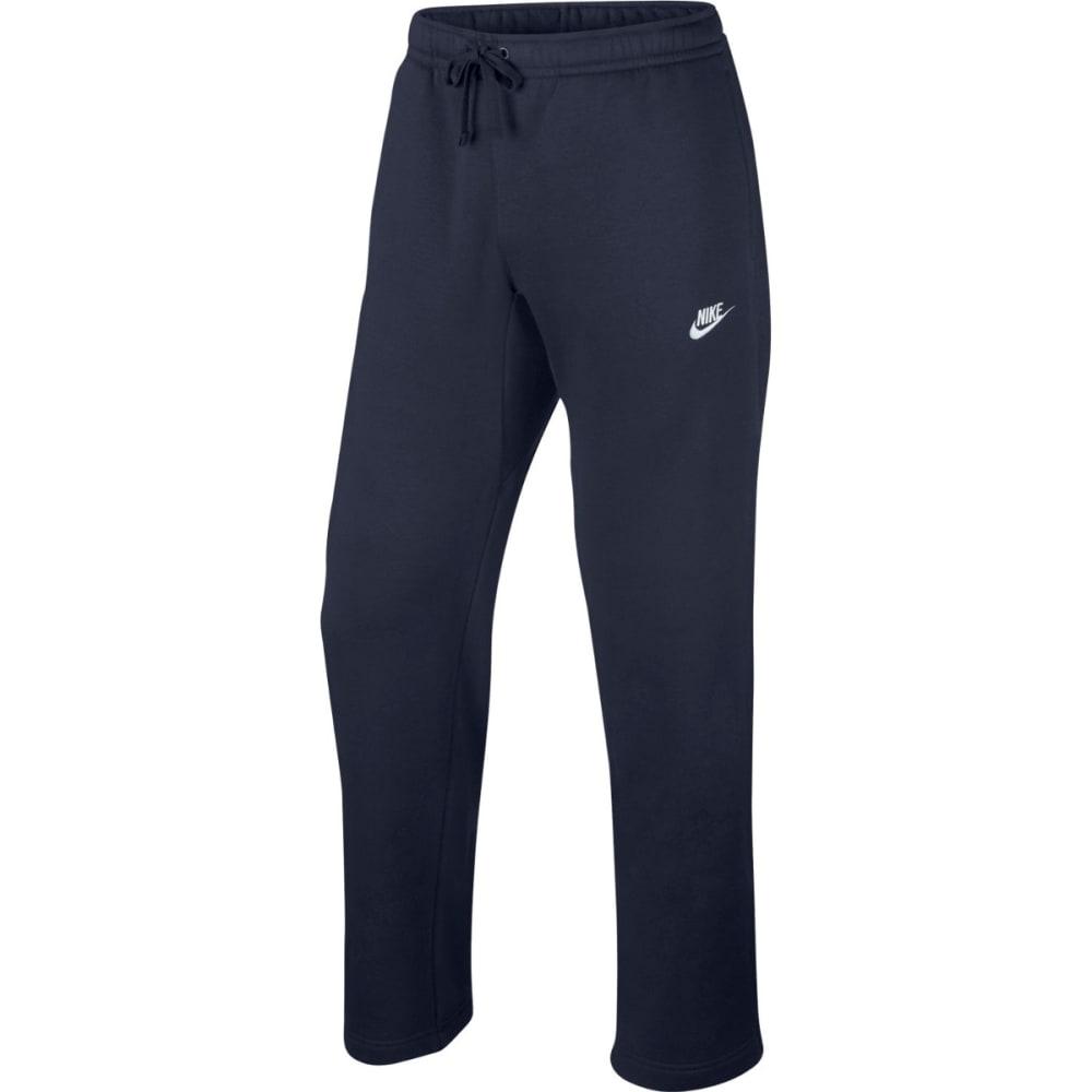 NIKE Men's Open Hem Club Fleece Pants XXL