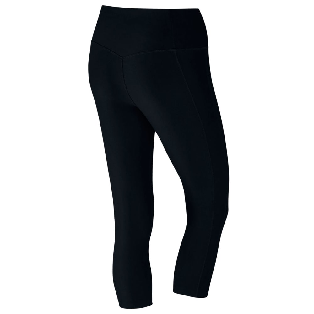 NIKE Women's Power Training Capris - BLACK 010