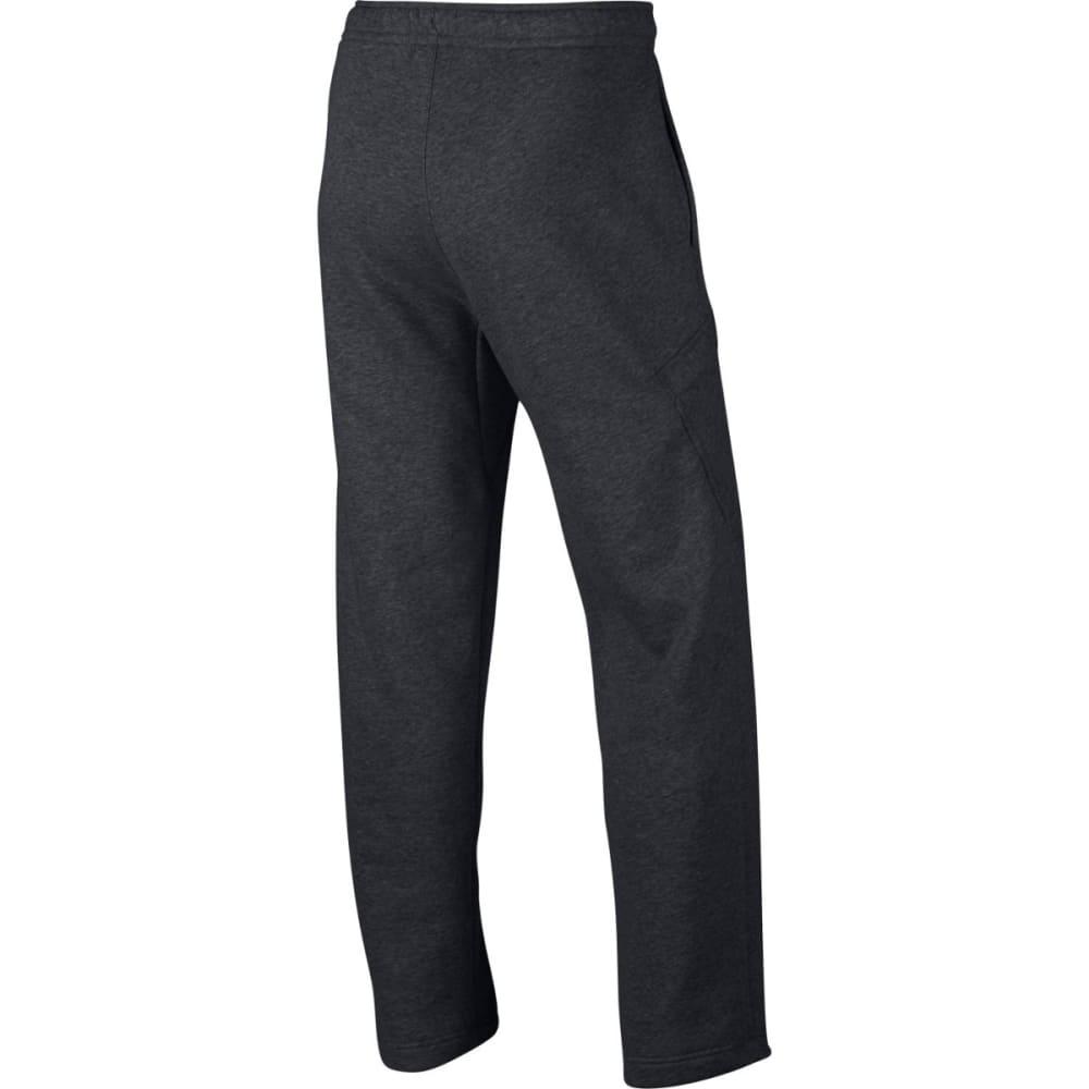 NIKE Men's Fleece Cargo Club Sweatpants - Charcoal-071