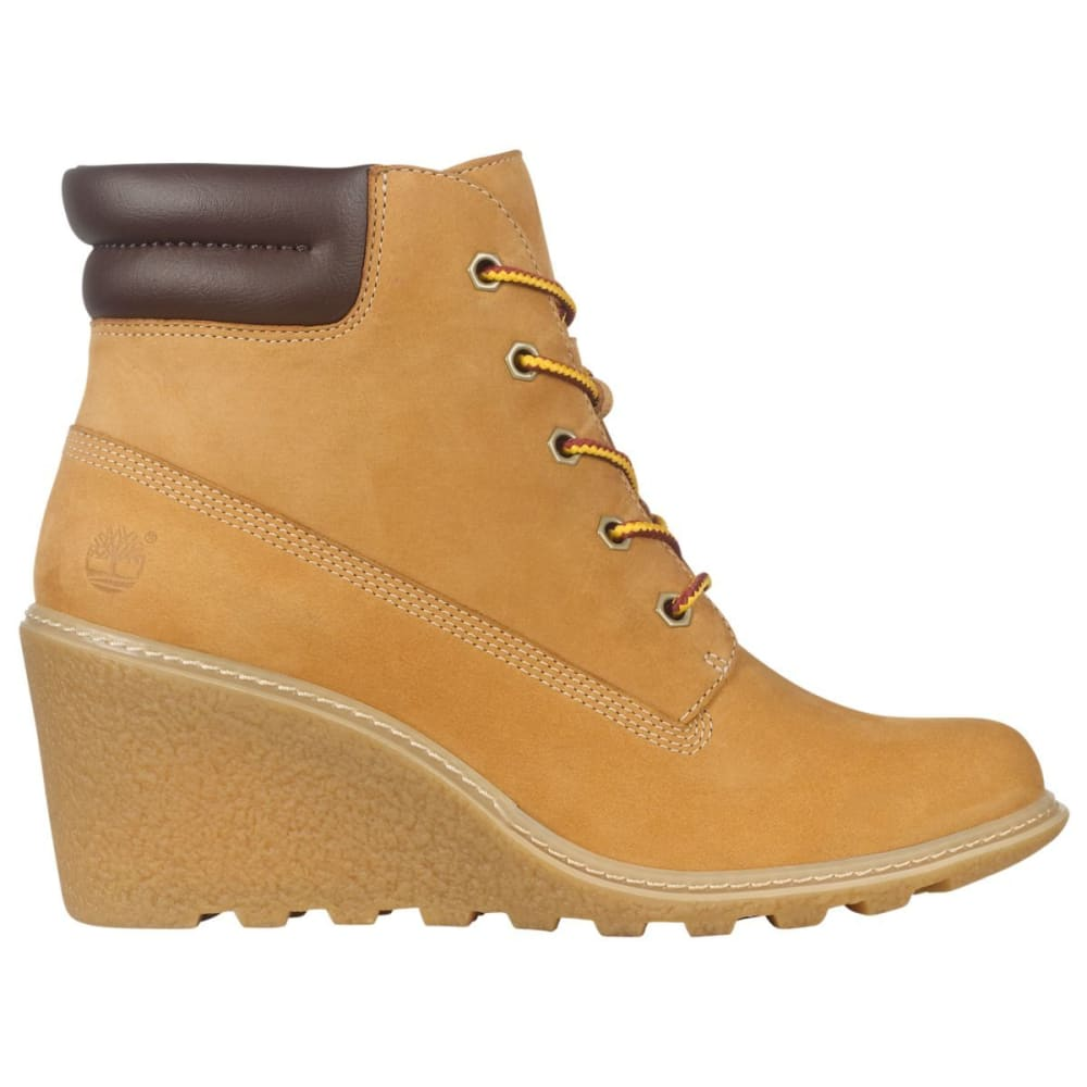 TIMBERLAND Women's 6 in. Amston Wedge Boots - WHEAT