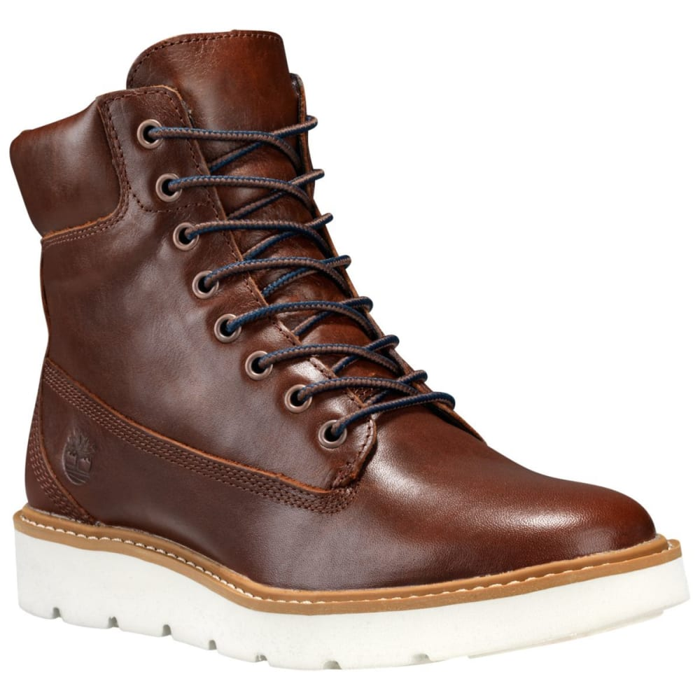 TIMBERLAND Women's 6 in. Kenniston Boots - MED BROWN